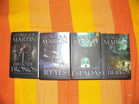Mis Libros De Juego De Tronos