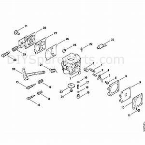 Stihl 011 Chainsaw  011avteq  Parts Diagram  F