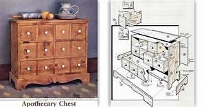 Apothecary Chest Plans • WoodArchivist