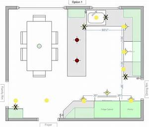 How to do recessed lighting in kitchen : Recessed lighting layout for my kitchen