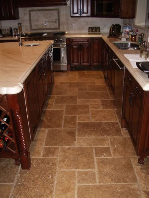 warm flooring for kitchen 29 best images about travertine on 7000