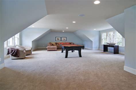 above garage bonus room traditional family room