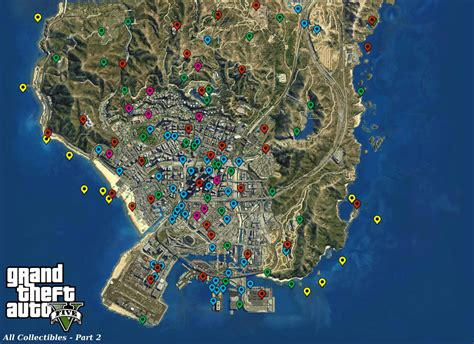 Steam Community Guide Maps And Collectibles Locations Gta