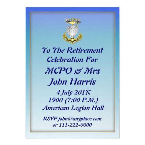 army retirement invitations templates