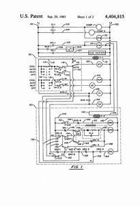Patent Us4404815 - Air Conditioning Economizer Control Method And Apparatus