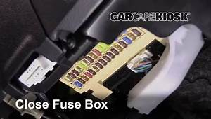 2017-2018 Toyota Corolla Im Interior Fuse Check