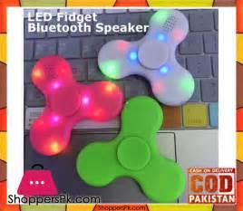 LED Fidget Bluetooth Fidget Spinner in Pakistan - Shoppers Pakistan