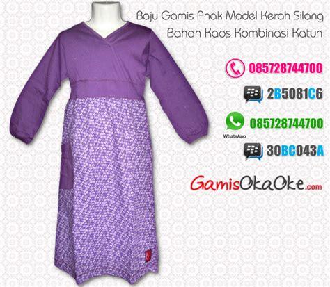 Harga Gamis Merk Motif baju gamis anak perempuan bahan kaos katun murah