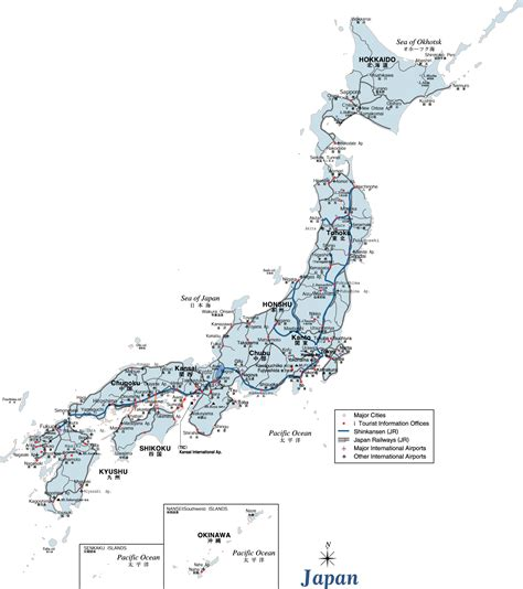 maps  japan map library maps   world