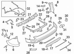 Ford Escape Parking Aid System Wiring Harness  W  Trailer