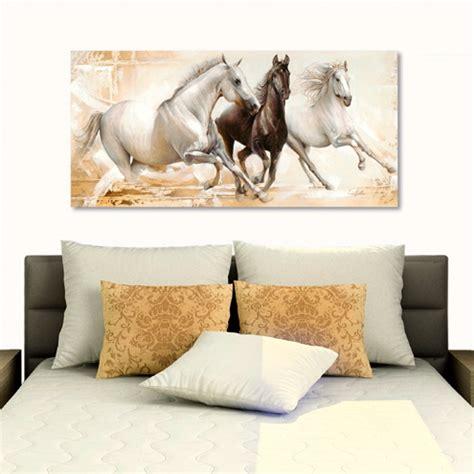 papier peint chevaux pour chambre papier peint pour salon moderne 9 peintures modernes