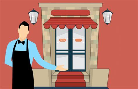 images cafe restaurant shop waiter owner man