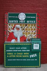 santa his mailbox return to earth explorer toys With receive a letter from santa in the mail