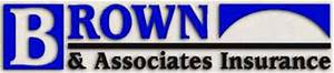 Brown and Associates Insurance Logo Designs