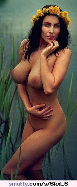 Sexy Big Tits In The Lake Milf Hot Brunette Bigtits