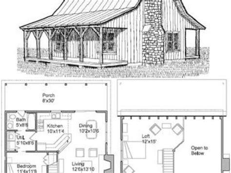 cabin loft cabins plans cabin blueprints treesranchcom