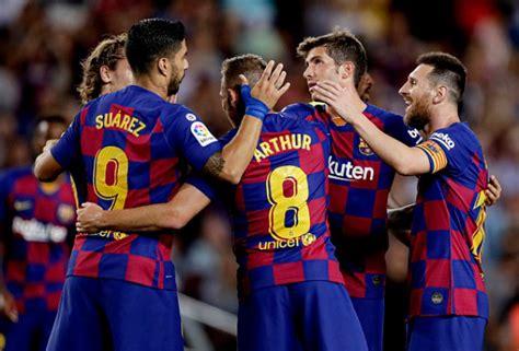 UEFA Champions League Starting XI: FC Barcelona vs Inter Milan