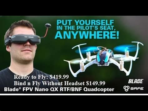 blade nano qx fpv demo at raleigh hobby shop youtube