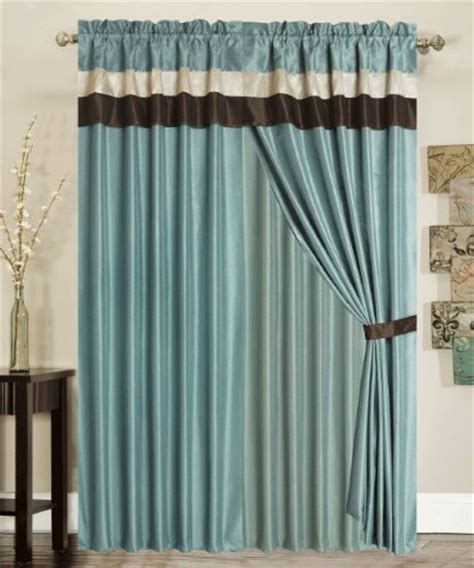 stylish blue curtains for your home hometone