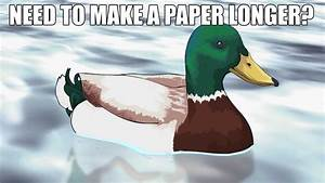 PAPER - Actual Advice Mallard - YouTube