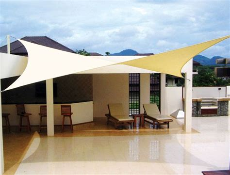 sail patio cover landscaping