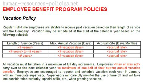 Company Theft Policy Template by Sle Human Resources Policies Sle Procedures For