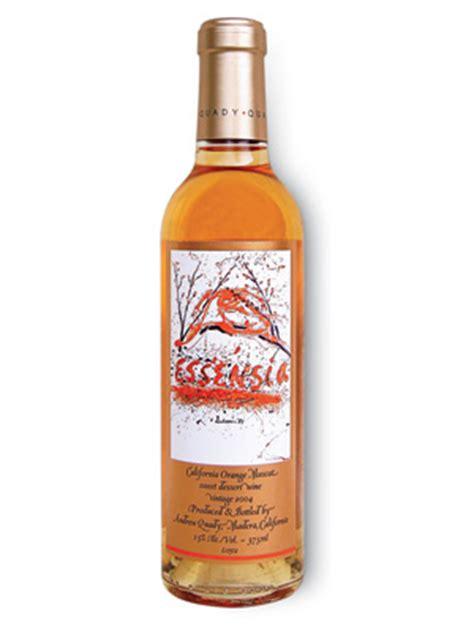 orange muscat dessert wine quady essensia orange muscat 2006 review