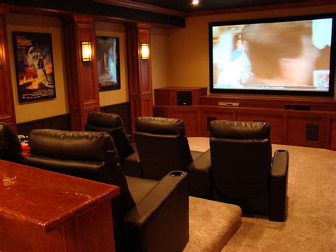 Basement Home Theater Ideas by The Finished Basement Gallery