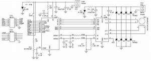 High Current Bipolar Stepper Motor Controller Electronic Circuit Diagram  62609