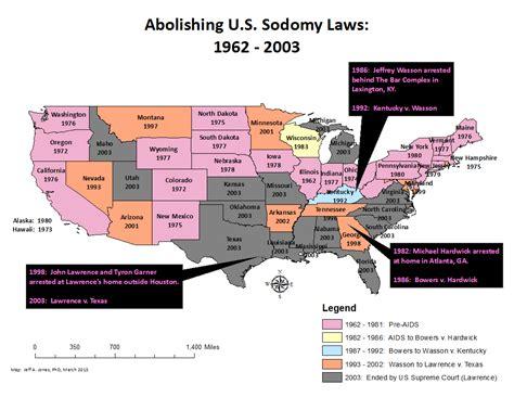 Middling America A Good Ol' Fashioned Sodomy Law