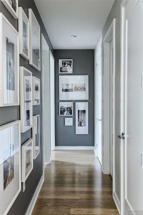 I'm also sharing a viewer requested. 21 Awesome Hallway Decorating Ideas in 2020 (With images) | Narrow hallway decorating, Small ...