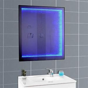 miroir 3d retro eclairant With miroir led intégré