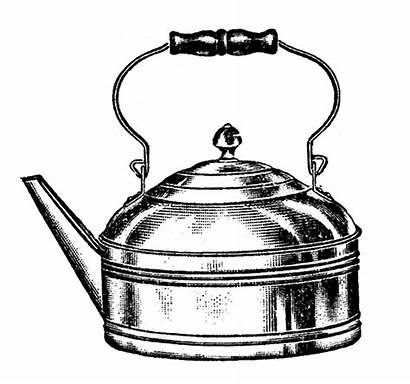 Tea Kettle Clip Kitchen Coffee Pots Graphics