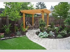 Simple Backyard Ideas Pictures and Landscaping Plans