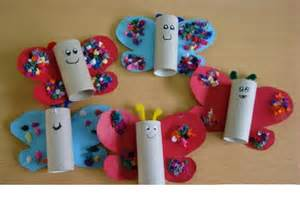 Preschool Printable Halloween Books by Toilet Paper Roll Butterfly Crafts 1 171 Funnycrafts