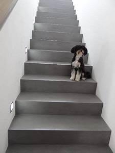 Betontreppe Sanieren Aussen : betontreppe gespachtelt treppenbeschichtung betonoptik treppe wie sichtbeton fugenlose ~ Frokenaadalensverden.com Haus und Dekorationen