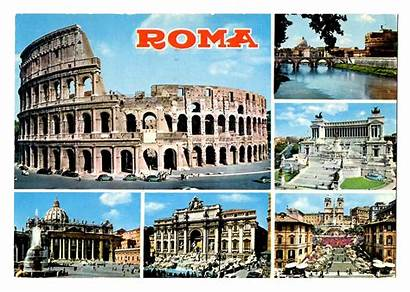 Rome Postcards Postcard Italy Travel Places 1967