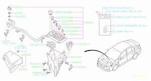 2016 Subaru Sti Relay  Fuse  Box  Electrical