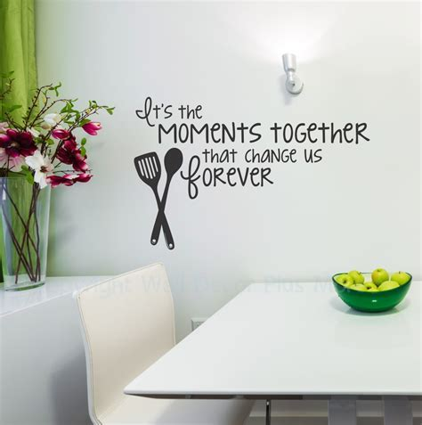 Moments Together Vinyl Wall Decal Family Saying for the