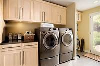 cabinets for laundry room 40 Laundry Room Cabinets To Make This House Chore So Much Easier