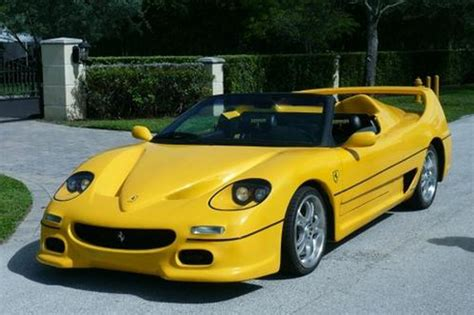 fiero based f50 kit car is an automotive atrocity