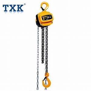 Txk 1 Ton 2 Ton 3ton 5 Ton Manual Chain Block Hoist