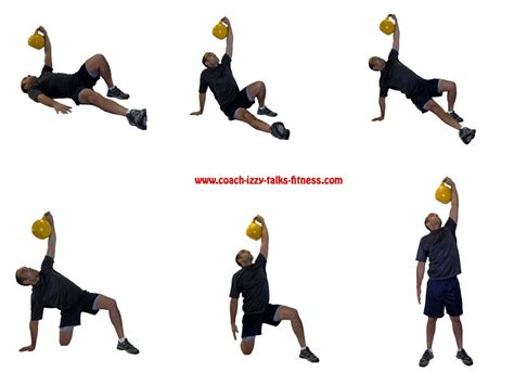 turkish kettlebell exercise ups exercises workout fitness russian warm getup ascending sit nj izzy talks coach lift arm bench week