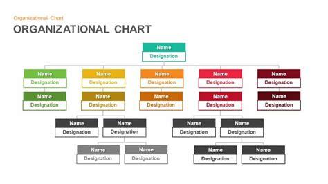 organizational chart hierarchy keynotes  powerpoint