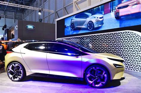 Tata 45x Concept Right Side At 2018 Geneva Motor Show