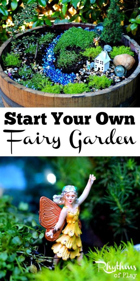 your own garden start your own fairy garden rhythms of play how to make a fairy garden affordably mommy moment