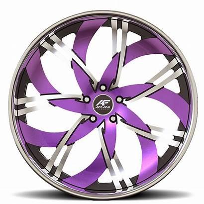 Purple Wheels Chrome Yolo Custom Orange Amani