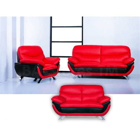 red and black sofa set black and red sofa set red black bonded leather sofa set