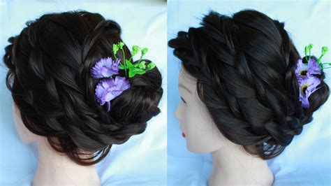 Bridal Bun Hair Style || Wedding Hairstyles || Wedding