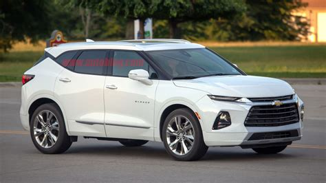 2019 Chevy Blazer Spied For The First Time Uncovered On